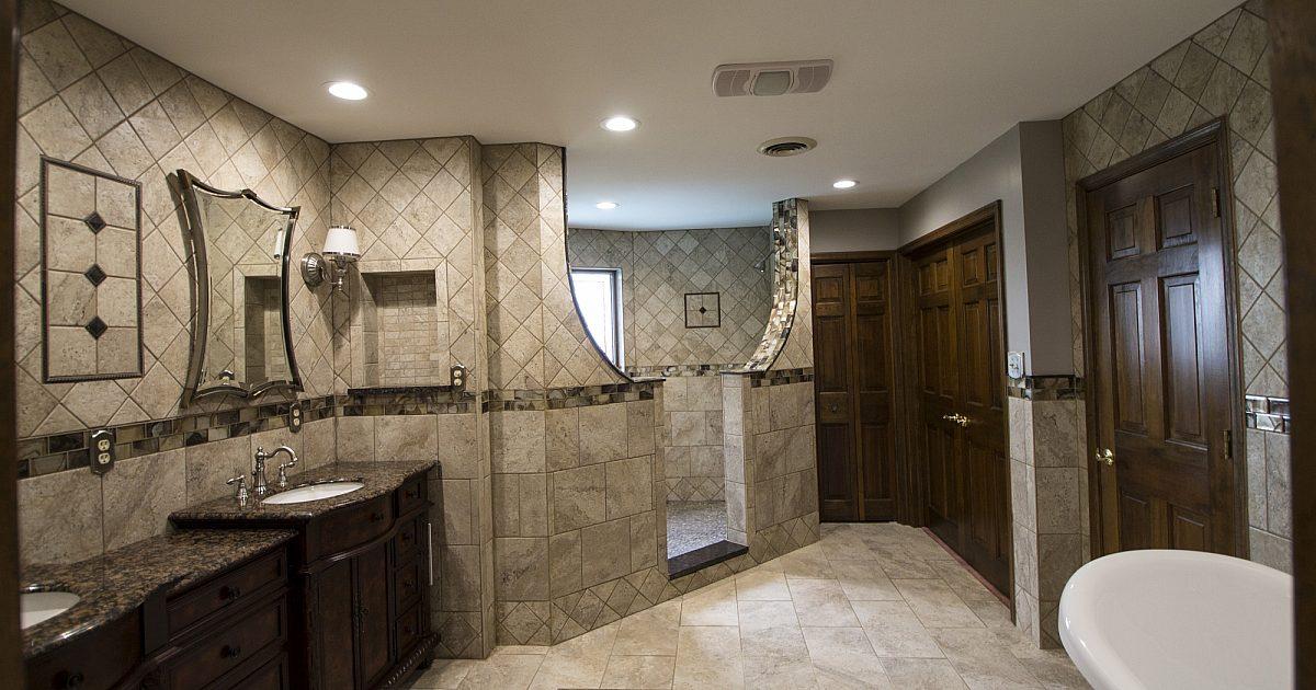 Habitat Building Group Llc Custom Master Bathroom